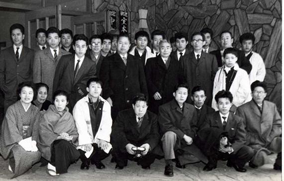 1960年頃の社員旅行の様子