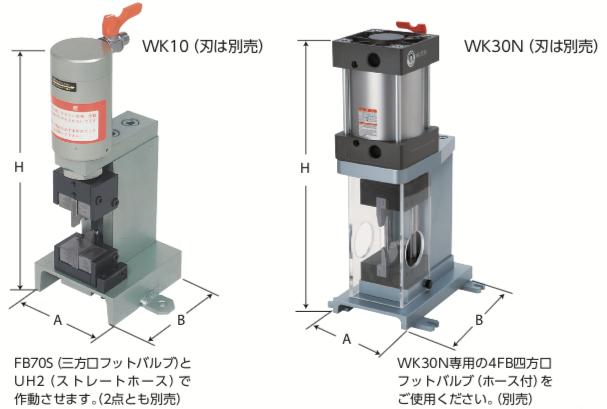 WK型 電線カッタ