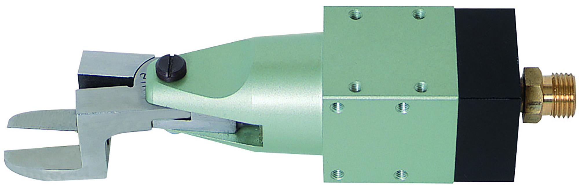 MSK型 機械取付式角型エアーニッパ 前方部丸型