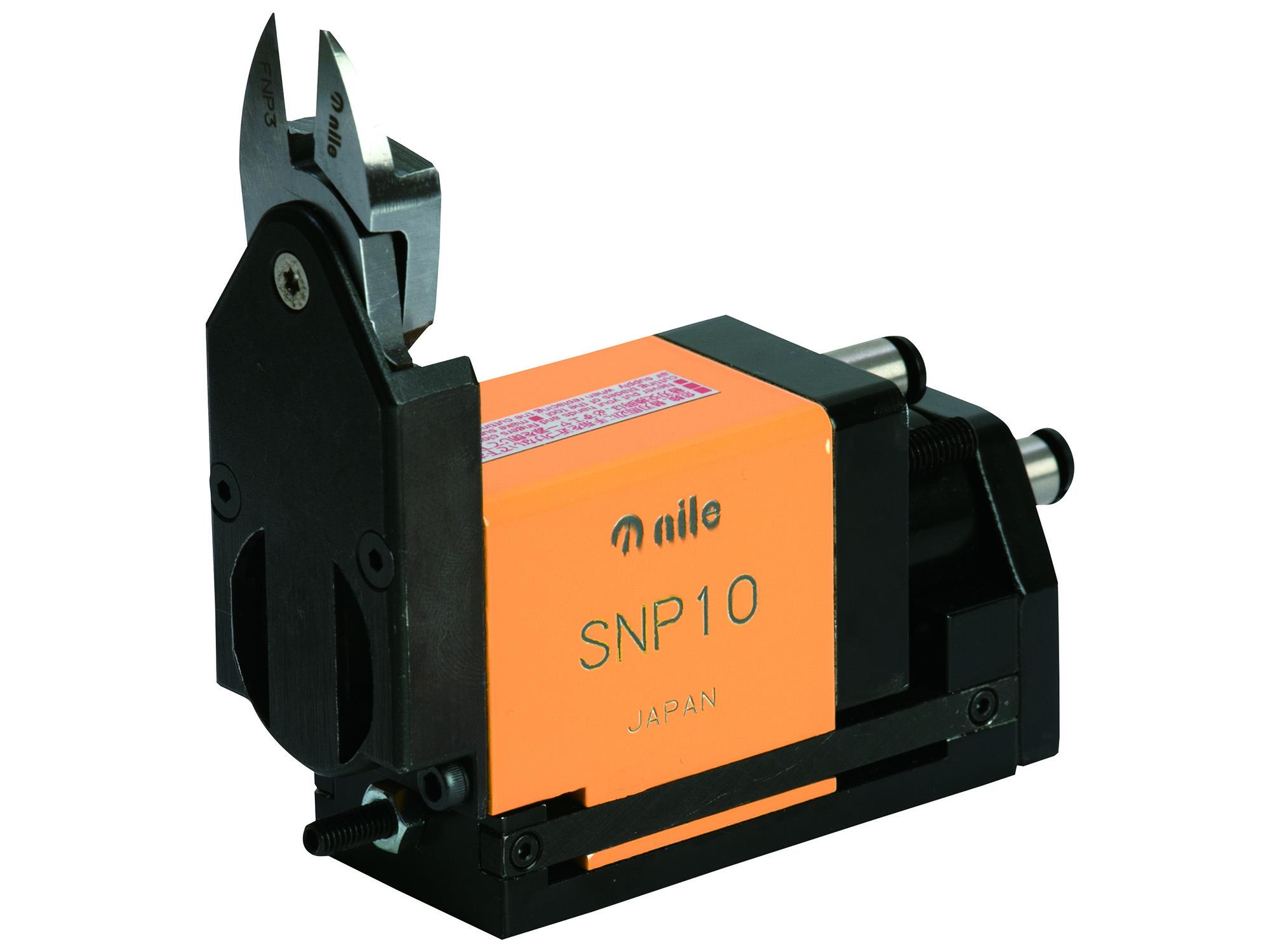 SNP型 ゲートカット用エアーニッパ 押し切りタイプ